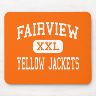 Fairview - Yellow Jackets - High - Fairview Mouse Pads