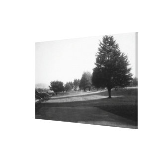 Fairway Lake Gold Course View at the Olympic Canvas Print