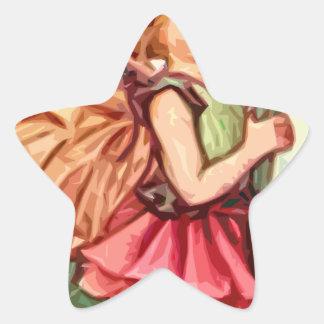 Fairy 1 star sticker