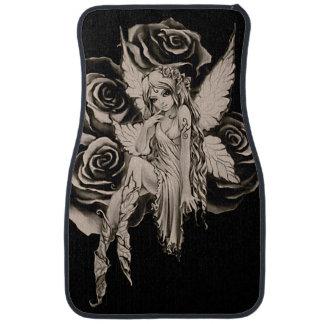 Fairy 3 sepia floor mat