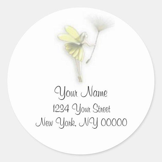 Fairy Address Sticker