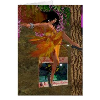 Fairy Air Dancing Greeting Card