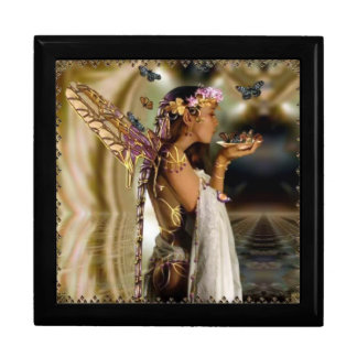 Fairy and Butterflies Large Square Gift Box