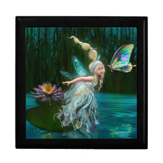 Fairy and Butterfly Large Square Gift Box