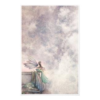 Fairy and Dragon Fantasy Art Stationary Stationery