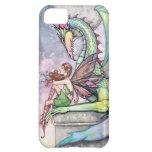 Fairy and Dragon Gothic Fantasy Art iPhone 5C Case