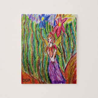 fairy and  garden jigsaw puzzle