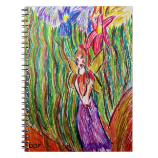 fairy and  garden notebook