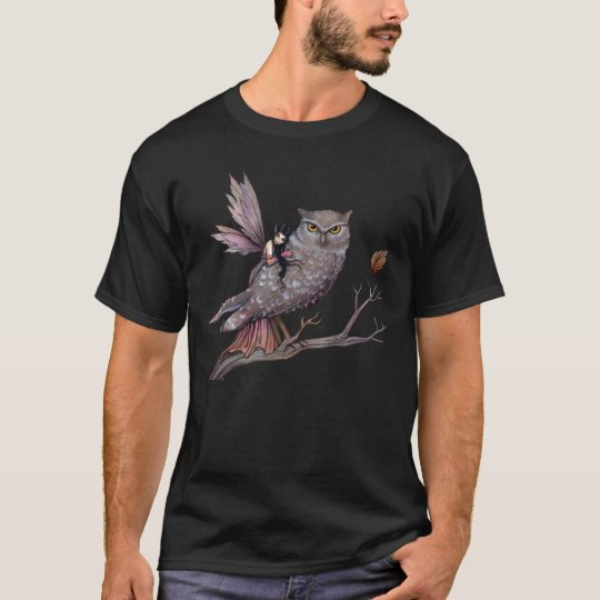 Fairy and Owl T-Shirt