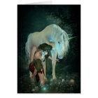 Fairy and Unicorn Magic Greeting Card