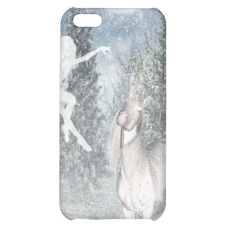Fairy and unicorn snow iPhone case Case For iPhone 5C