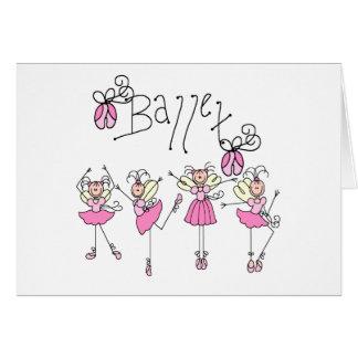 Fairy Angel Ballet Card