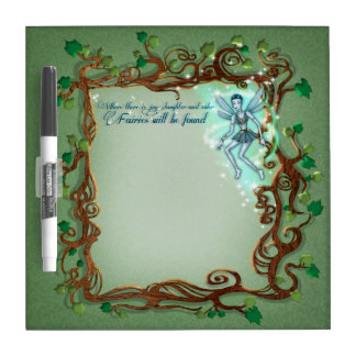 Fairy Art Dry Erase Board