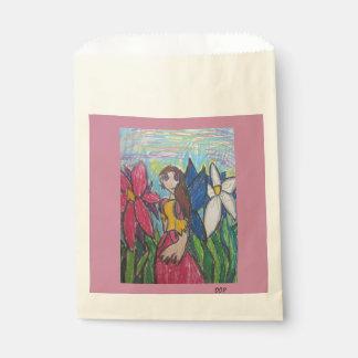 fairy art favour bags