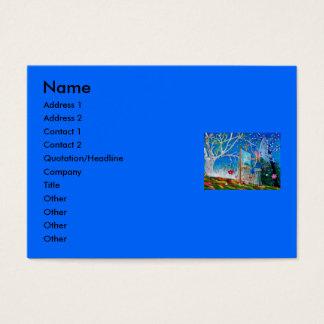 Fairy Artist Faery Business Card