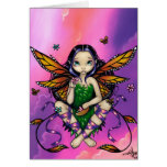 """""""Fairy at Sunset"""" Greeting Card"""