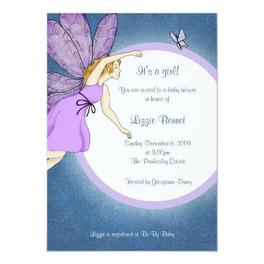 Fairy Baby Shower invitation Zazzlecouk