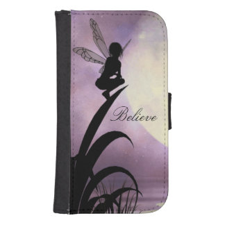 Fairy believeSamsung Galaxy S5 or S4 Wallet Case