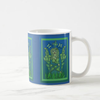 Fairy Blue and Green Mug