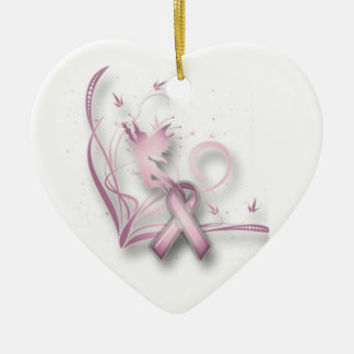 Fairy Breast Cancer Ornament