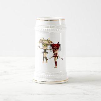 Fairy Bugs Beer Stein Coffee Mugs