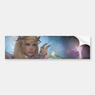Fairy Car Bumper Sticker