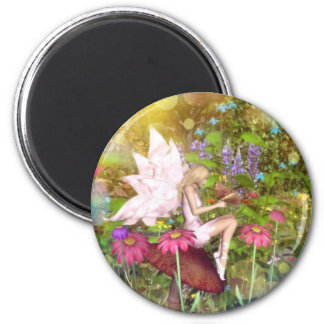 Fairy butterfly friends magnet
