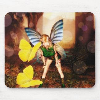 Fairy Butterfly talk Mousepad
