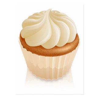Fairy cake cupcake postcard