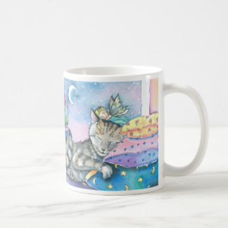 Fairy Cat Mug by Molly Harrison