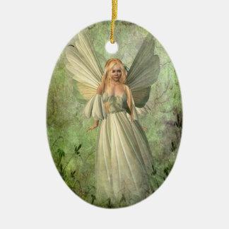 Fairy Ceramic Oval Decoration