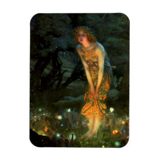 Fairy Circle Fairies Midsummer Eve Rectangular Photo Magnet