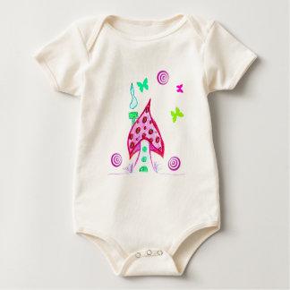 Fairy come * baby bodysuit