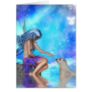 Fairy Conversations II Greeting Card