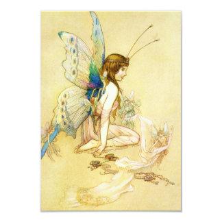 Fairy Costume 9 Cm X 13 Cm Invitation Card