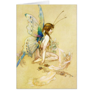 Fairy Costume Greeting Card