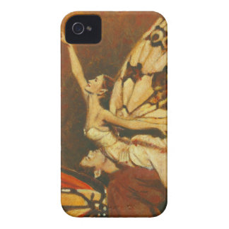 Fairy Couple iPhone 4 Case-Mate Barely There