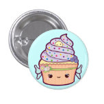 Fairy Cupcake Buttons