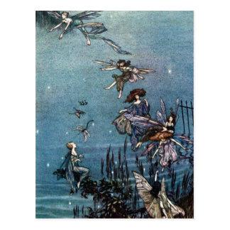 Fairy Dance Invitations Postcard