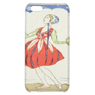 Fairy Dancer Asian Woodblock Print iPhone 5C Covers