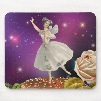 Fairy Dancing on a Mushroom Mouse Mat