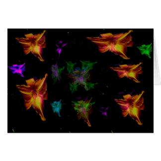 Fairy Daylilies Greeting Card
