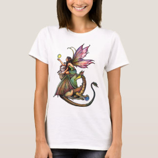 Fairy Dragon Ladies Tank Top by Molly Harrison