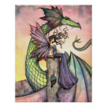 Fairy Dragon Poster A Distant Place