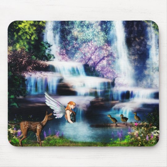 Fairy dream fantasy mouse pad