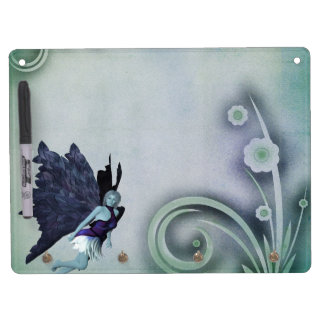 Fairy Dry Erase Board With Key Ring Holder