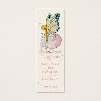 Fairy Dust Bookmark Mini Business Card