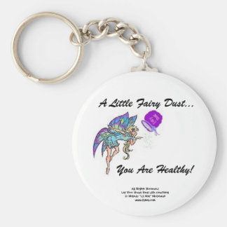 Fairy Dust Healthy Keychain