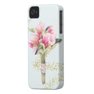 Fairy Dusted Magnolia Bouquet iPhone 4 Cover