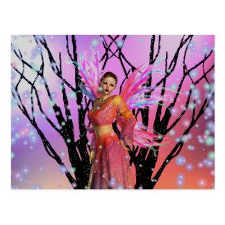 Fairy fantasy postcard